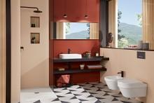 Nouveau pour le segment professionnel : les WC Architectura avec une fixation dissimulée