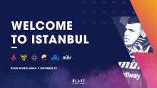 BLAST Pro Series Istanbul - Media Accreditation