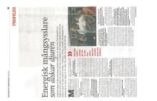 Reportage om Owe Sandström i Vällingby City Independent