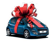 Før-julegave fra Peugeot:                 107 5-dørs til kun 79.990 kr.