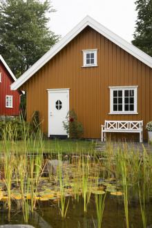 Nymalt hus før høsten kommer?