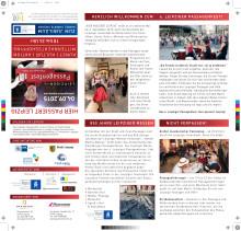 Programm und Übersichtsplan des 6. Passagenfests