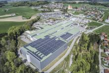 B&R expanderar solcellssystem till 1.5 megawatt