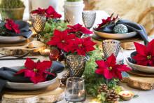 4 inspirerande juldukningar i olika stilar