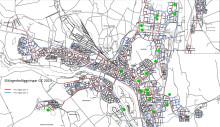 Karta över underhållsarbeten 2014