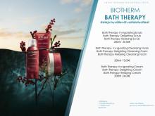 Lehdistötiedote Biotherm Bath Therapy huhtikuu
