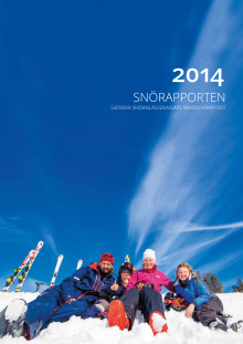 Svenska Skidanläggningars branschrapport 2014
