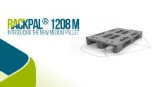 RackPal®1208M, nytt sortiment plastpallar för upp till 1500 kg last från Schoeller Allibert