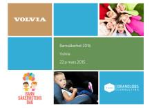 Volvias undersökning bland svenska föräldrar 2016