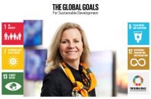 Telia stöttar FN:s globala hållbarhetsmål