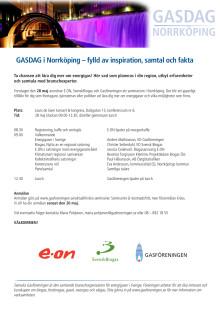 GASDAG i Norrköping den 28 maj
