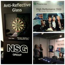 Pilkingtons högpresterande glas visas upp på ISE 2015