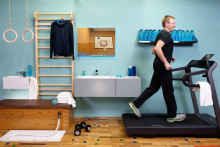 Trend 03: Healthy Bathroom - Tomorrow's bathroom: gym and wellness centre in one