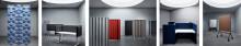 Abstracta med erkända designers lanserar produkter för bättre ljudlandskap på Stockholm Furniture Fair
