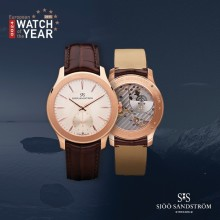 Sjöö Sandström, Royal Capital nominerad till European Watch of the Year 2015
