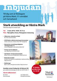 Inbjudan och program Västra mark