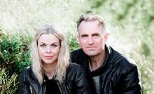 Paul-Ottar Haga og Evy Kasseth Røsten med Olav Duun-framsyning