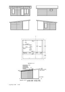 Planritning Attefallshus