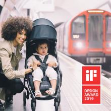 Ergobaby Metro vinnare av iF DESIGN AWARD 2019!