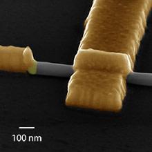 Nya nanokontakter banar väg för nedskalning av elektronik