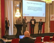 Accus utsedd till Årets CSR-organisation av CSR Skåne