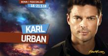 Karl Urban (Star Trek,  Herr der Ringe) ist Gast auf der FedCon 27 vom 18. bis 21.05.2018 in Bonn