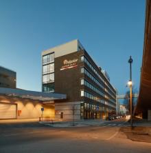 Skanska säljer kontorsfastighet i Hammarby Sjöstad, Stockholm, för cirka 440 miljoner kronor