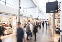 Stockholmare shoppar gärna på flygplatsen