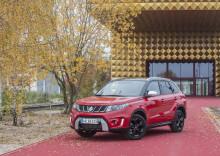 Suzuki Vitara med ny turbo-benzinmotor og nye priser