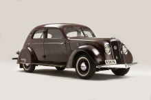 Volvo Cars på Techno Classica: Art Deco i rörelse med Volvo PV36