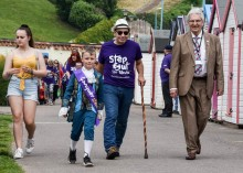 Survivors take a Step Out for Stroke in Paignton