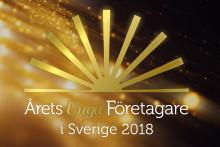 Stjärnentreprenörer nominerade till Årets unga företagare 2018