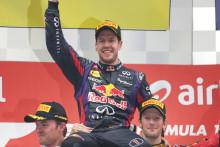 Vettel väljer rätt däckstrategi och blir världsmästare