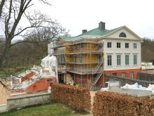 Restaureringen av Gunnebo slotts fasad samt färgsättning