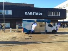 Beratungsmobil der Unabhängigen Patientenberatung kommt am 3. April nach Bremerhaven.