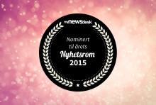 Årets Nyhetsrom 2015: De nominerte i kategorien årets nykommer