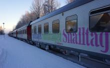Nattåg till fjälldestinationer i Lappland- Fjälltåget