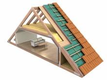 Test på 1 1/2-planshus visar minskad fukt, ökad värme och komfort