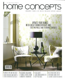 Evorich Flooring Group on Latest Issue of Home Concepts Magazine