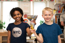 Kevingeskolan i Danderyd vinnare av Lilla Säkerhetspriset 2018