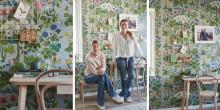 Skapa ett inspirerande arbetsrum som också fungerar som ombonat gästrum - Idag lanserar Boråstapeter den uppföljande filmen i samarbetet med toppbloggarna