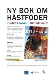 Ny bok om hästfoder. Gratis! Lönsamt! Klimatsmart!