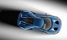 Nya superbilen Ford GT i kolfiber bjuder på innovationer inom aerodynamik, EcoBoost och lättviktsteknik