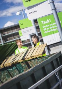 Ny återvinningscentral i Hamrånge