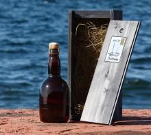 Stallhagens historiska öl – flaska nummer ett såld