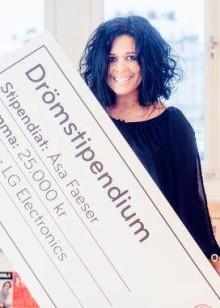 LG:s Drömstipendiat 2012: Karlskogabon Åsa Faeser förverkligar barn- och ungdomars dansintresse