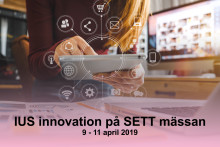 IUS innovation på SETT mässan
