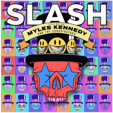 SLASH FT. MYLES KENNEDY & THE CONSPIRATORS to release their brand new studio album LIVING THE DREAM