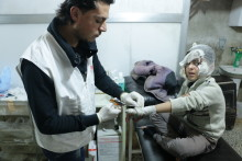 """""""Vi förhindras att rädda liv i Syrien"""""""