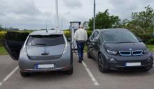 Nästan var tionde ny bil i Skara är eldriven
